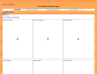 blankcalendar.info screenshot