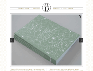 blanketmagazine.com screenshot