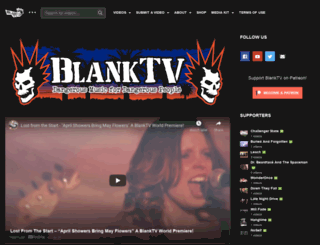 blanktv.com screenshot