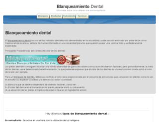 blanqueodental.org screenshot
