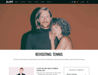 blaremagazine.com screenshot