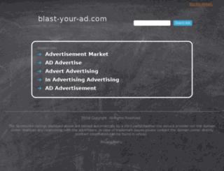 blast-your-ad.com screenshot