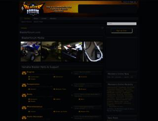 blasterforum.com screenshot