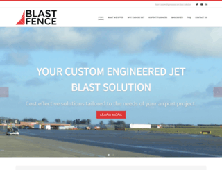 blastfence.com screenshot