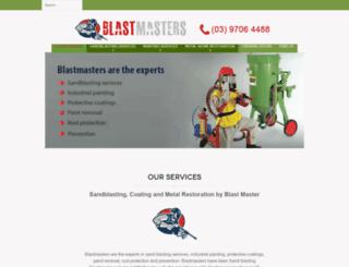 blastmasters.com.au screenshot