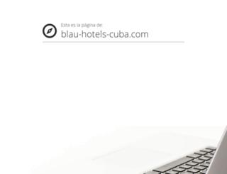 blau-hotels-cuba.com screenshot
