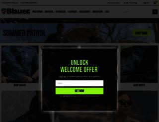 blauer.com screenshot