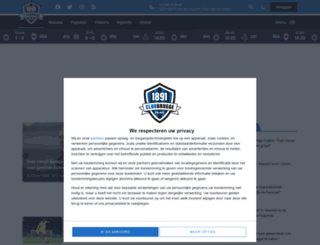 blauwzwartfans.be screenshot