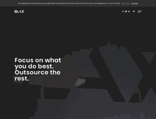 blax.ca screenshot