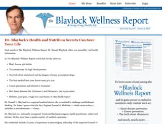 blaylockreport.com screenshot