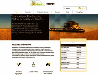 blazeagro.com screenshot