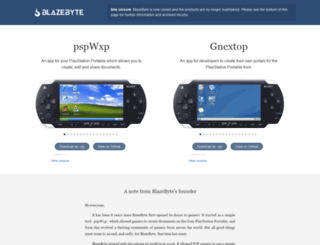 blazebyte.org screenshot