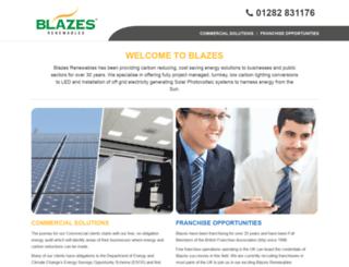 blazes.co.uk screenshot