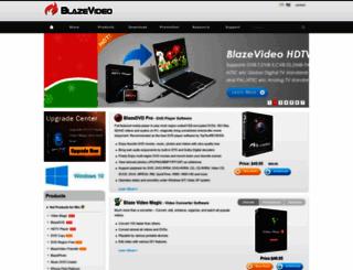 blazevideo.com screenshot