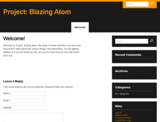 blazingatom.com screenshot