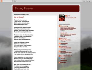 blazingforever.blogspot.com screenshot