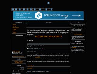 blazingfury.forum0.net screenshot