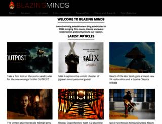 blazingminds.co.uk screenshot