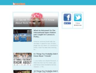 blazingnewz.com screenshot