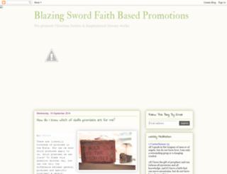 blazingswordpromotions.blogspot.com screenshot