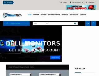 blazintech.net screenshot