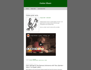 blazplavi-guitarmusic.blogspot.com screenshot