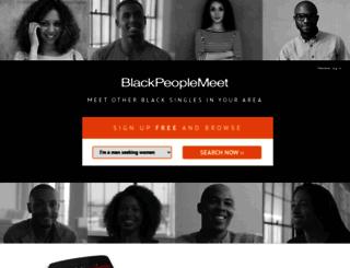 blckpeoplemeet.com screenshot