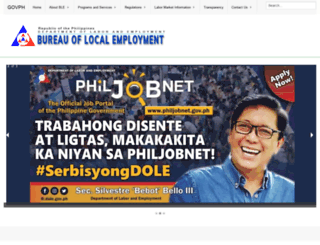 ble.dole.gov.ph screenshot