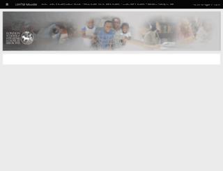 ble.lshtm.ac.uk screenshot