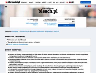 bleach.pl screenshot