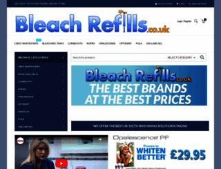 bleachrefills.co.uk screenshot