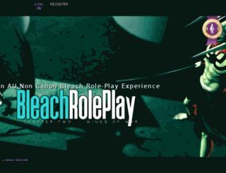 bleachroleplay.jcink.net screenshot
