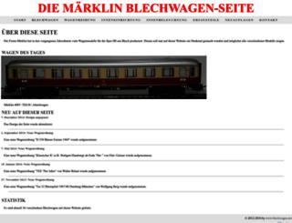 blechwagen.net screenshot