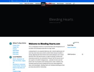 bleedingheartsbook.com screenshot