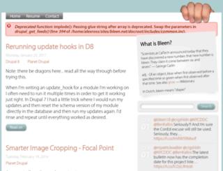 bleen.net screenshot