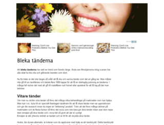 blekatanderna.se screenshot