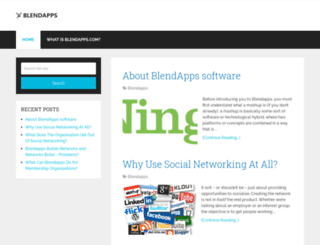 blendapps.com screenshot