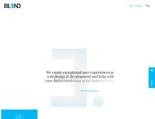 blenddigital.com screenshot