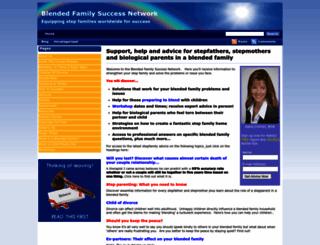 blendedfamilyfocus.com screenshot