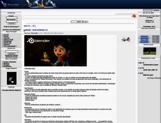 blenderclan.tuxfamily.org screenshot