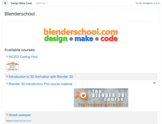 blenderschool.com screenshot