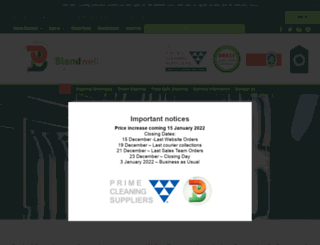 blendwell.co.za screenshot