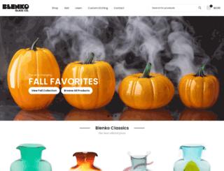 blenkoglass.com screenshot