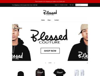 blessedcouture.net screenshot