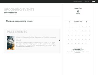 blessedisshe.ticketleap.com screenshot