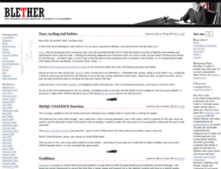 blether.com screenshot