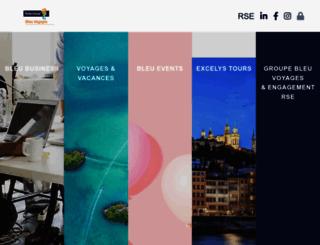 bleu-voyages.fr screenshot