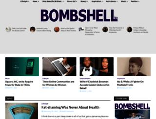 bleubombshell.com screenshot