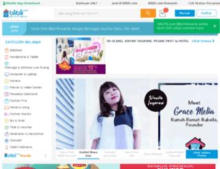 blibli.co.id screenshot