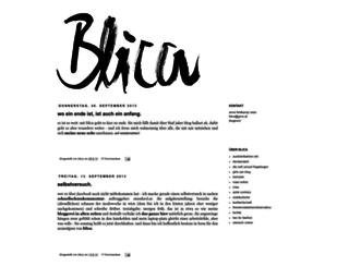 blicablica.blogspot.co.at screenshot